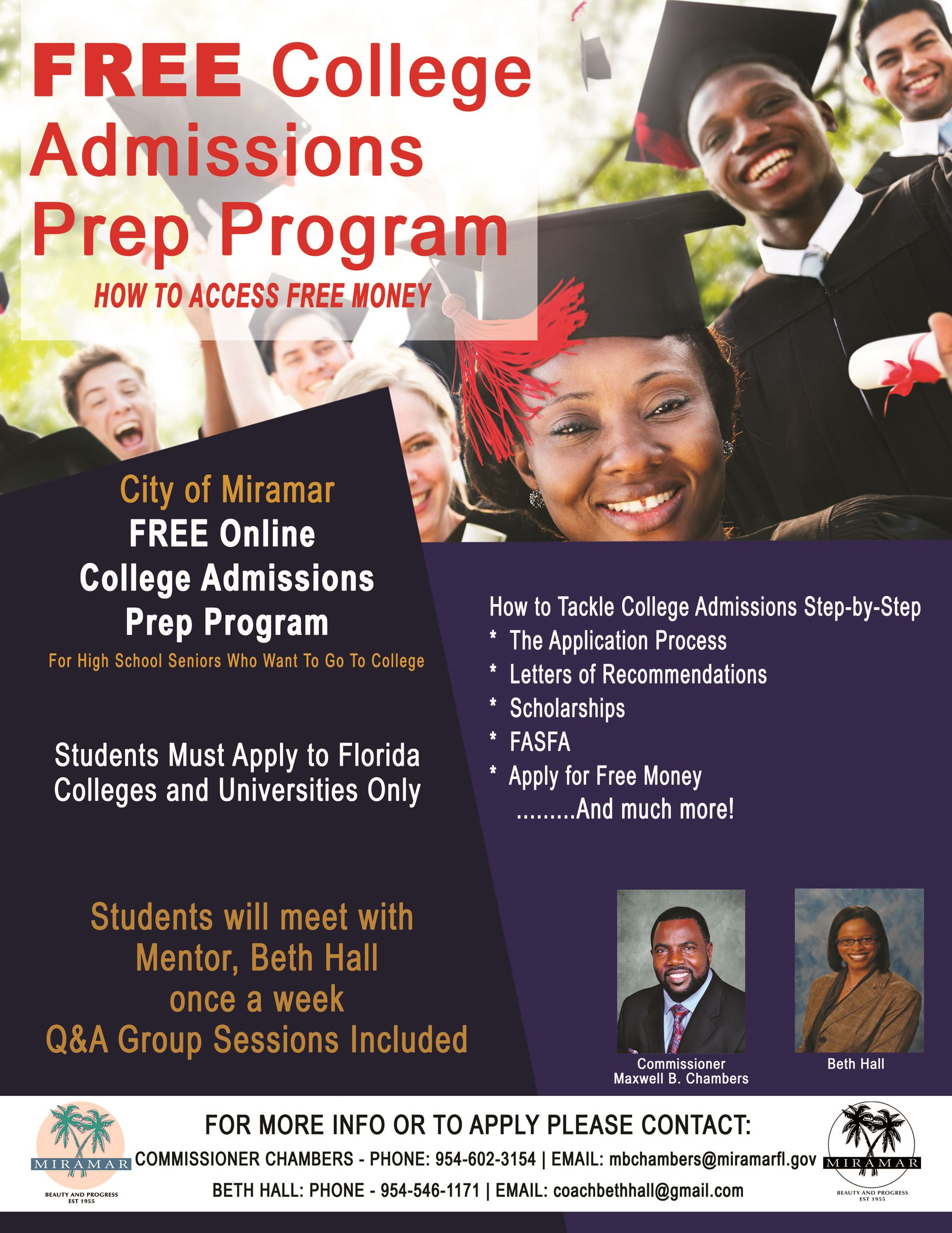 Chambers College Prep Program