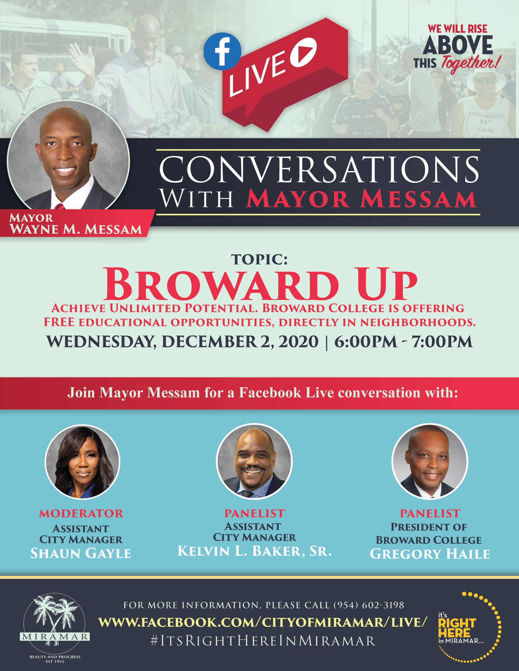 Conversations with Mayor - December 2