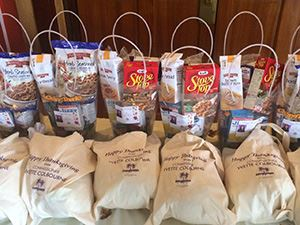 Turkey and Gift Bags