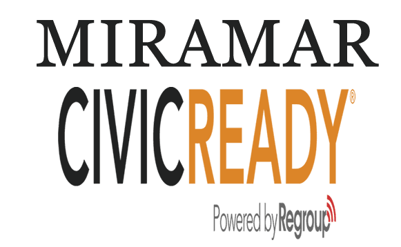 Miramar CivicReady Wordmark