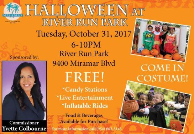 Commissioner Colbourne hosts Halloween 2017 @ River Run Park